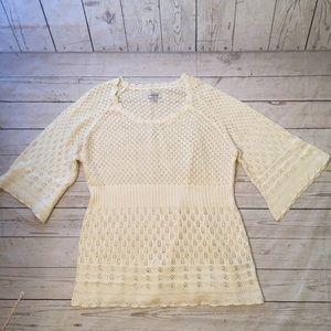 Lacy Knit Tunic